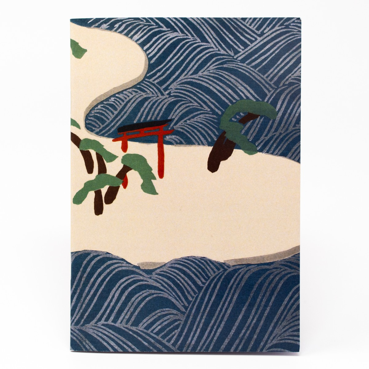 Photo of Ocean Waves Illustrated Notebook