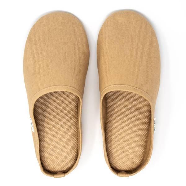 Image of Washi Slippers Camel Medium