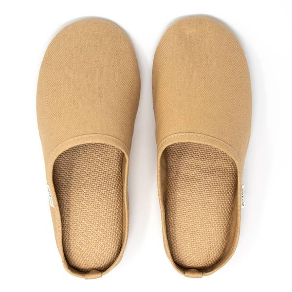 Image of Washi Room Shoes Camel Extra Large