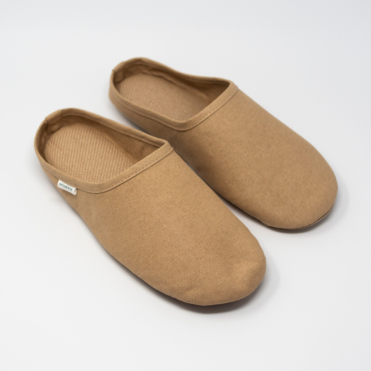 Photo of Washi Room Shoes Camel Extra Large