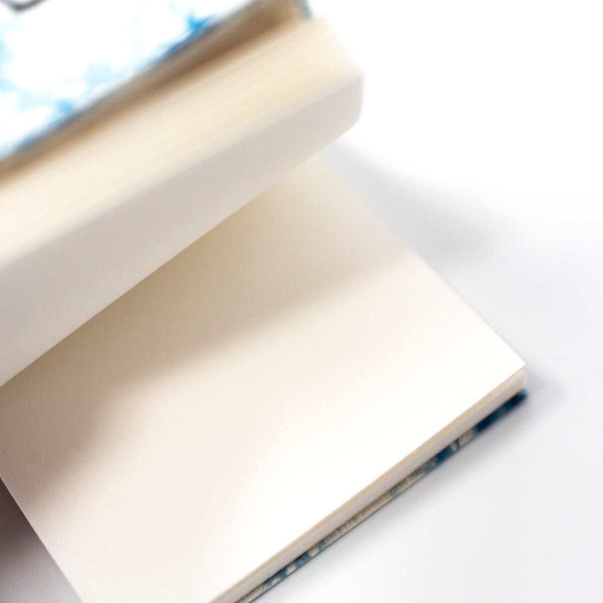 Photo of Mini Bokashi Indigo Notebook