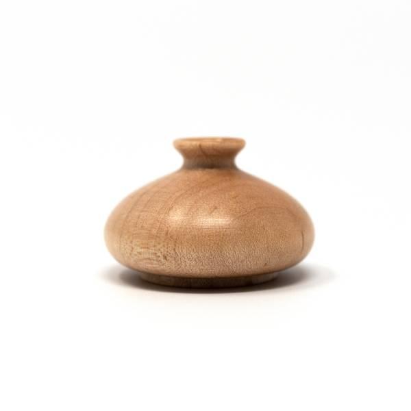 Image of Miniature Wooden Vase: Tokkhuri