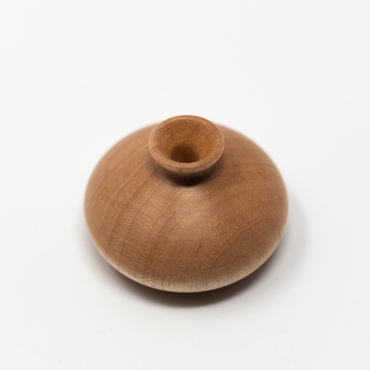 Photo of Miniature Wooden Vase: Tokkhuri