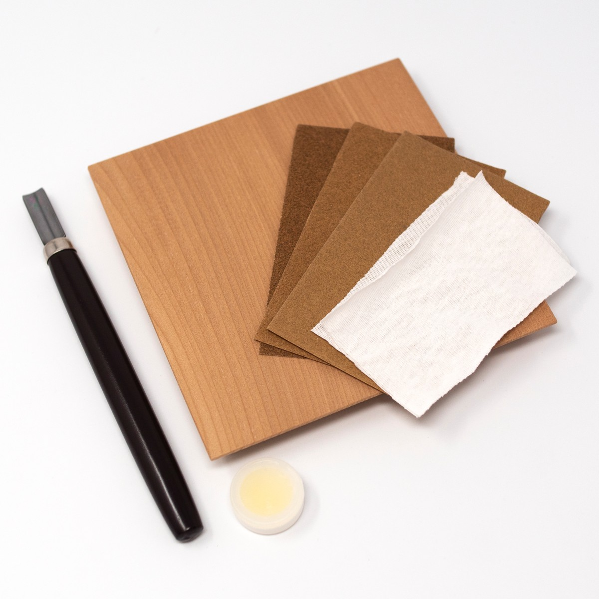 Photo of Japanese Plate Carving Kit