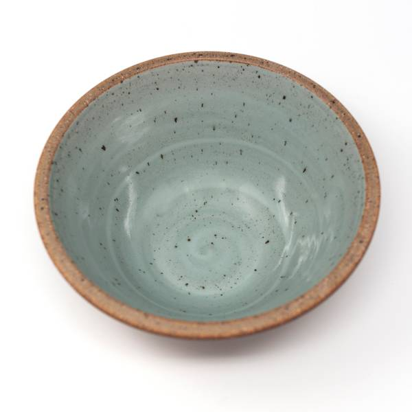 Image of Large Sky Blue Serving Bowl