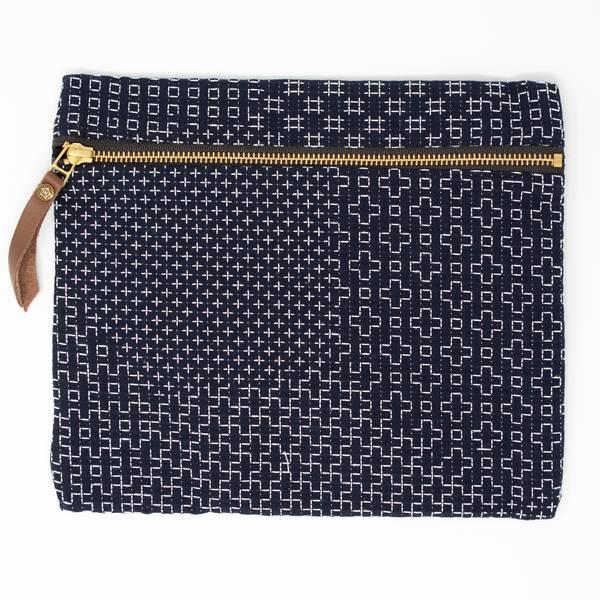 Image of Sashiko Flat Bag