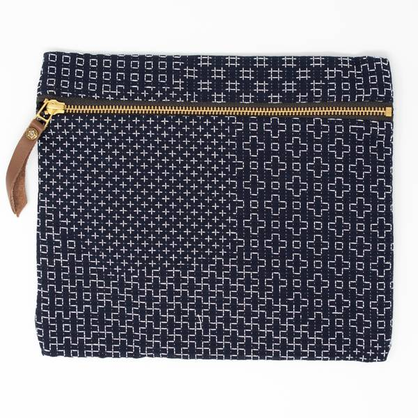 Image of Sashiko Flat Bag