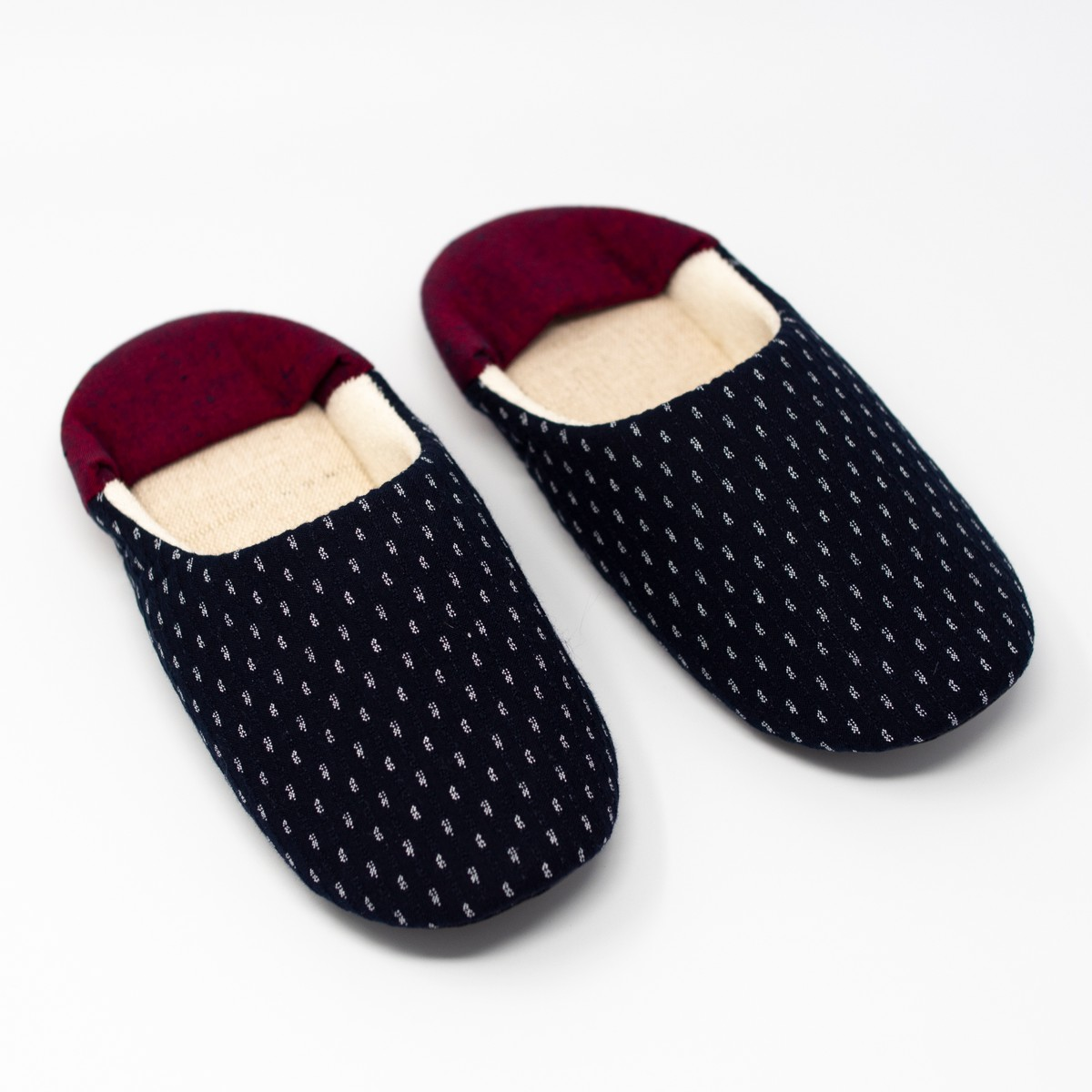 Photo of Red Kasuri Babouche Slippers