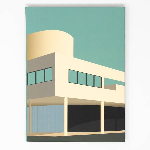 Image of Villa Savoye Architecture Notebook
