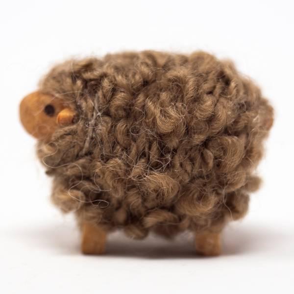 Image of Medium Merino Sheep Figurine