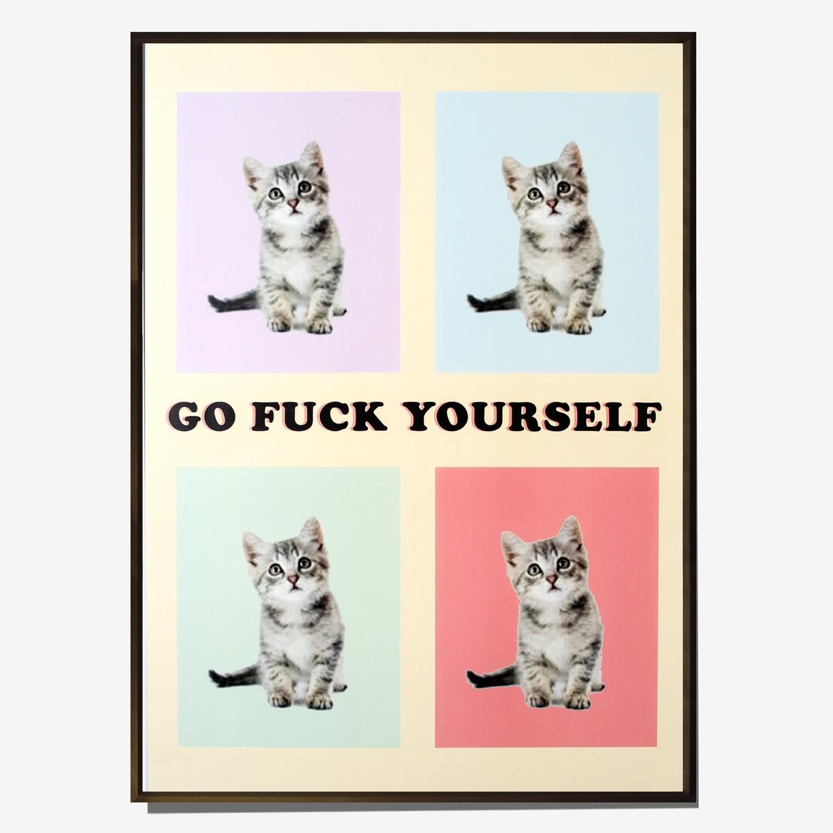 Photo of Expletive Kitten Poster