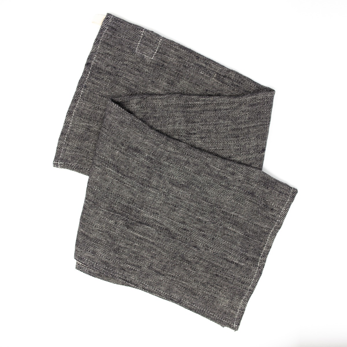 Photo of Herringbone Linen Hand Towel