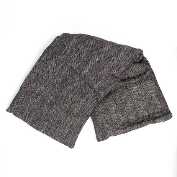 Image of Herringbone Linen Hot and Cold Pack