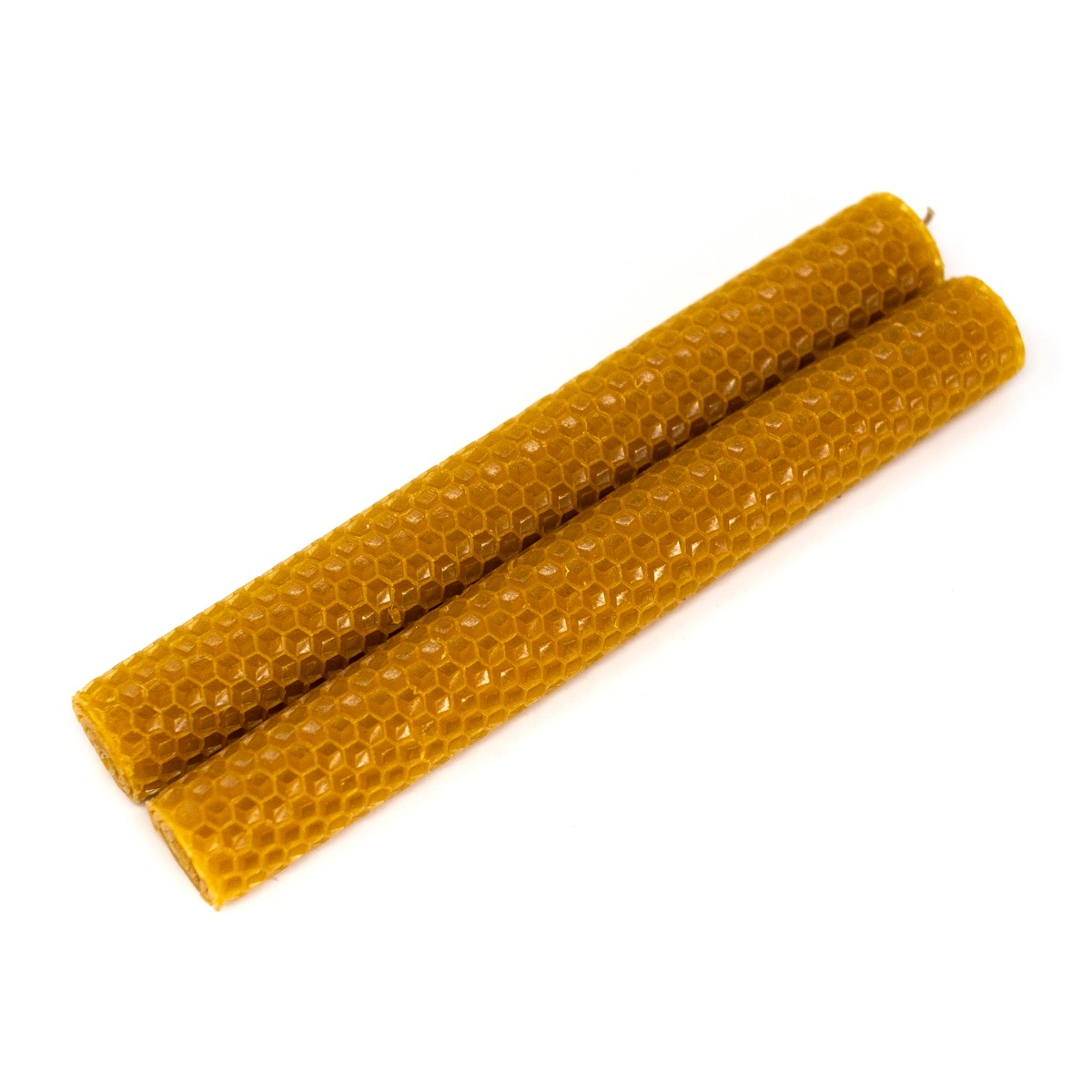 Photo of Hand Rolled Beeswax Candles Large