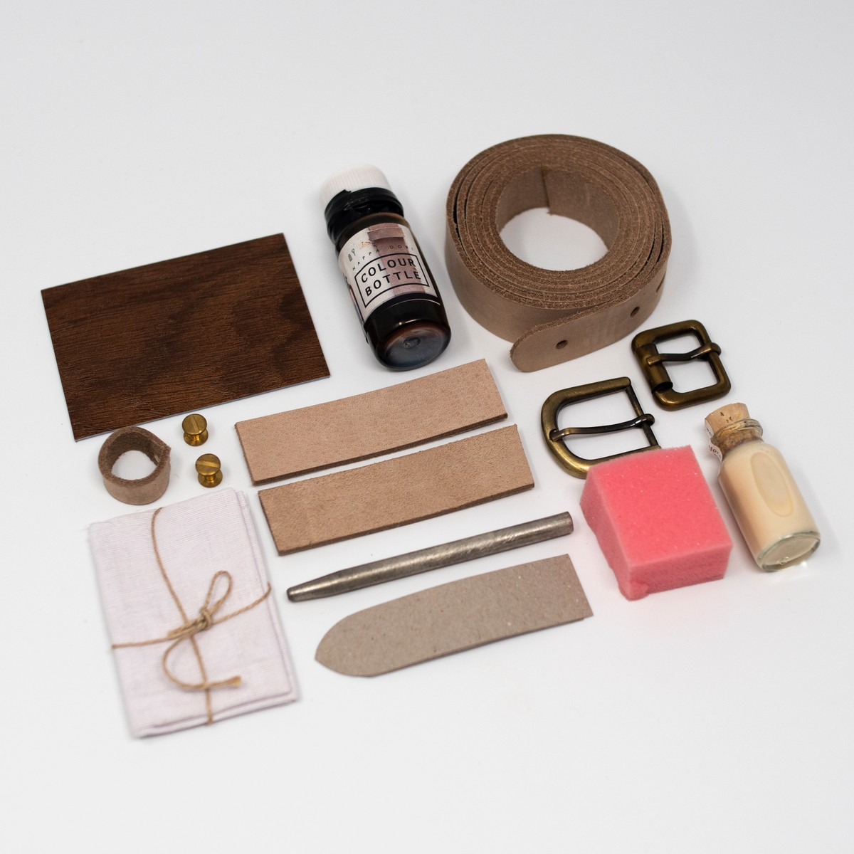 Photo of DIY Tan Leather Belt Kit