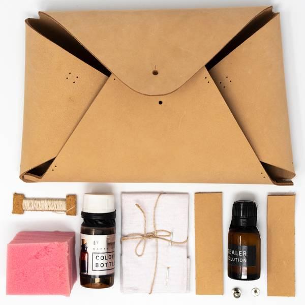 Image of DIY Tan Envelope Clutch Kit