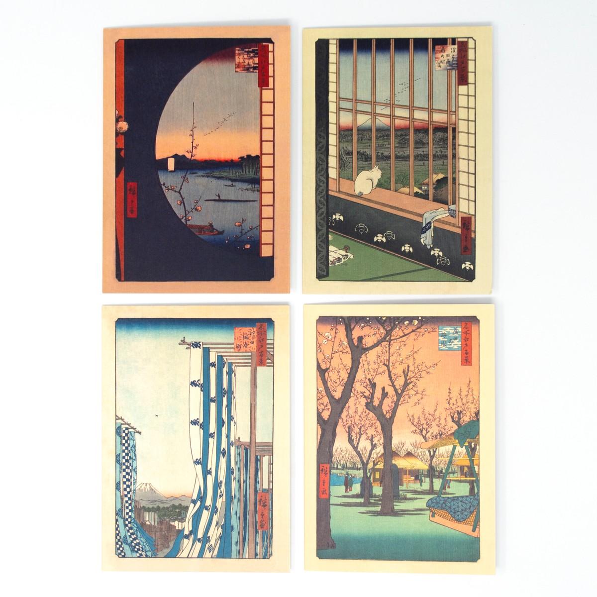 Photo of Greeting Cards: Utagawa Hiroshige Collection