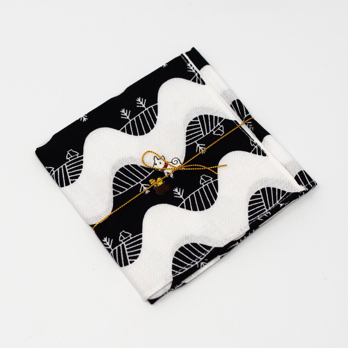 Photo of Pochi the Dog Handkerchief