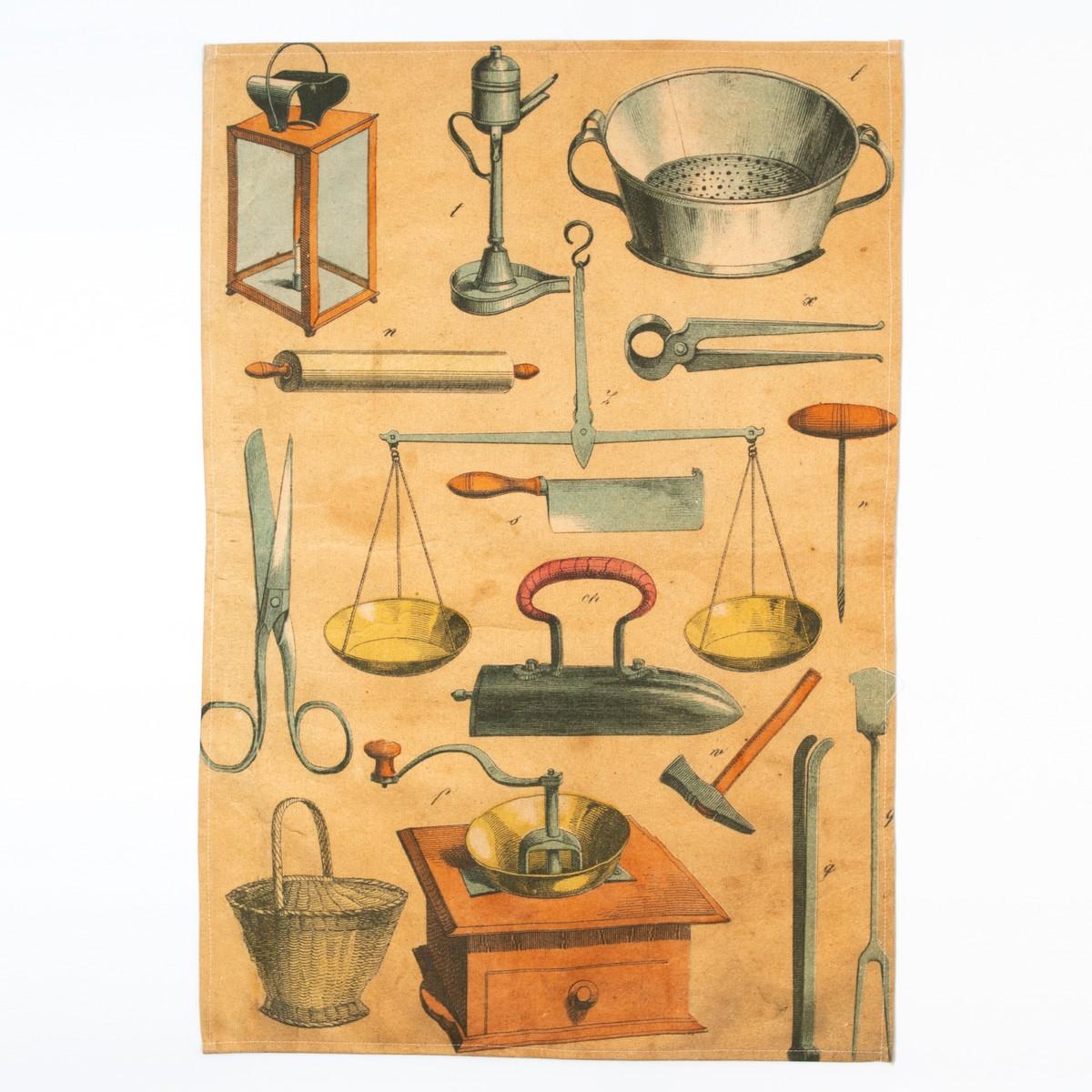Photo of Kitchenware Bookplate Tea Towel