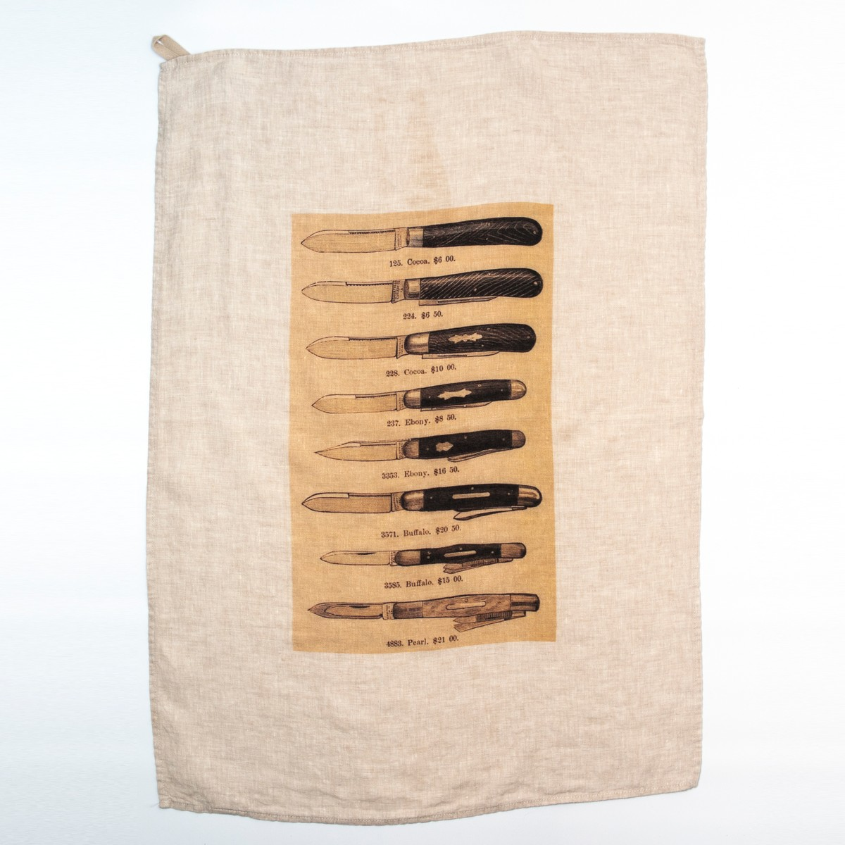 Photo of The Knives Tea Towel