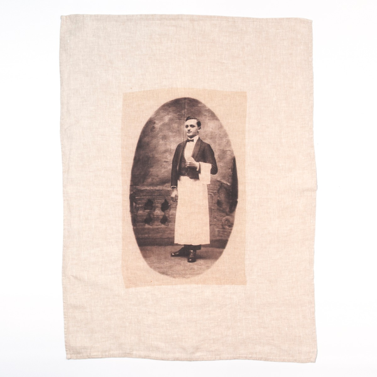 Photo of The Waiter Tea Towel