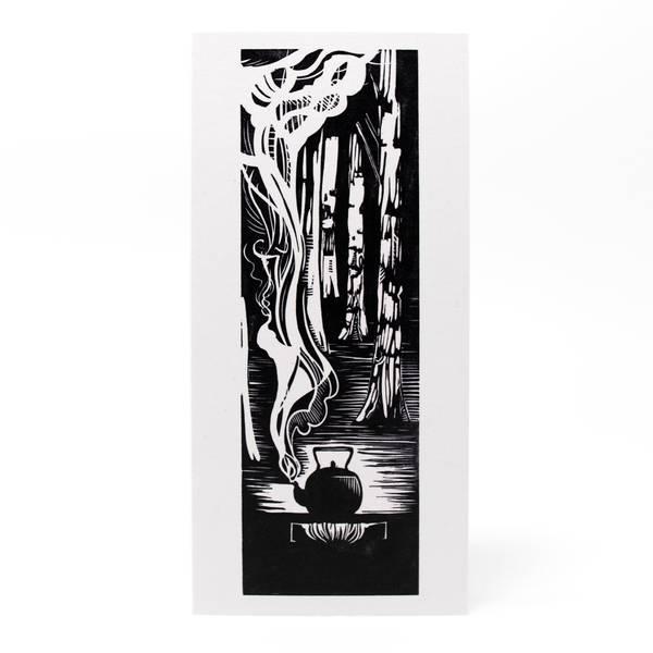 Image of Woodlarking Greeting Card