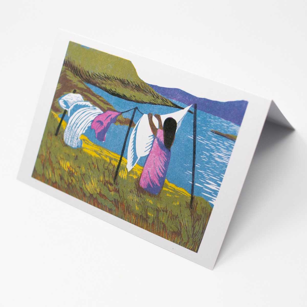 Photo of Washing Day Greeting Card