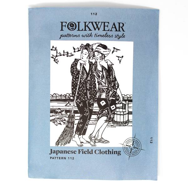 Image of Japanese Field Clothing Sewing Patterns