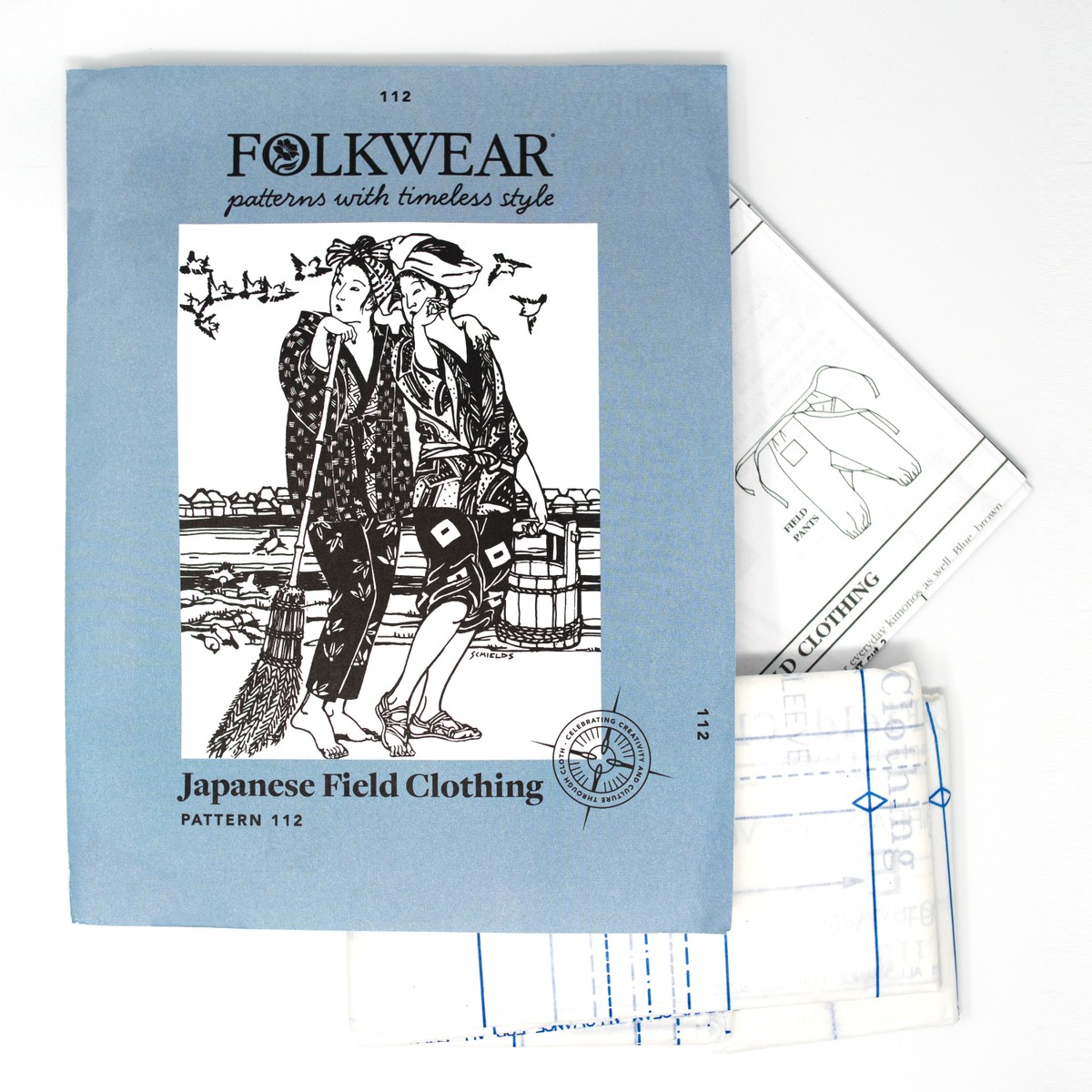 Photo of Japanese Field Clothing Sewing Patterns