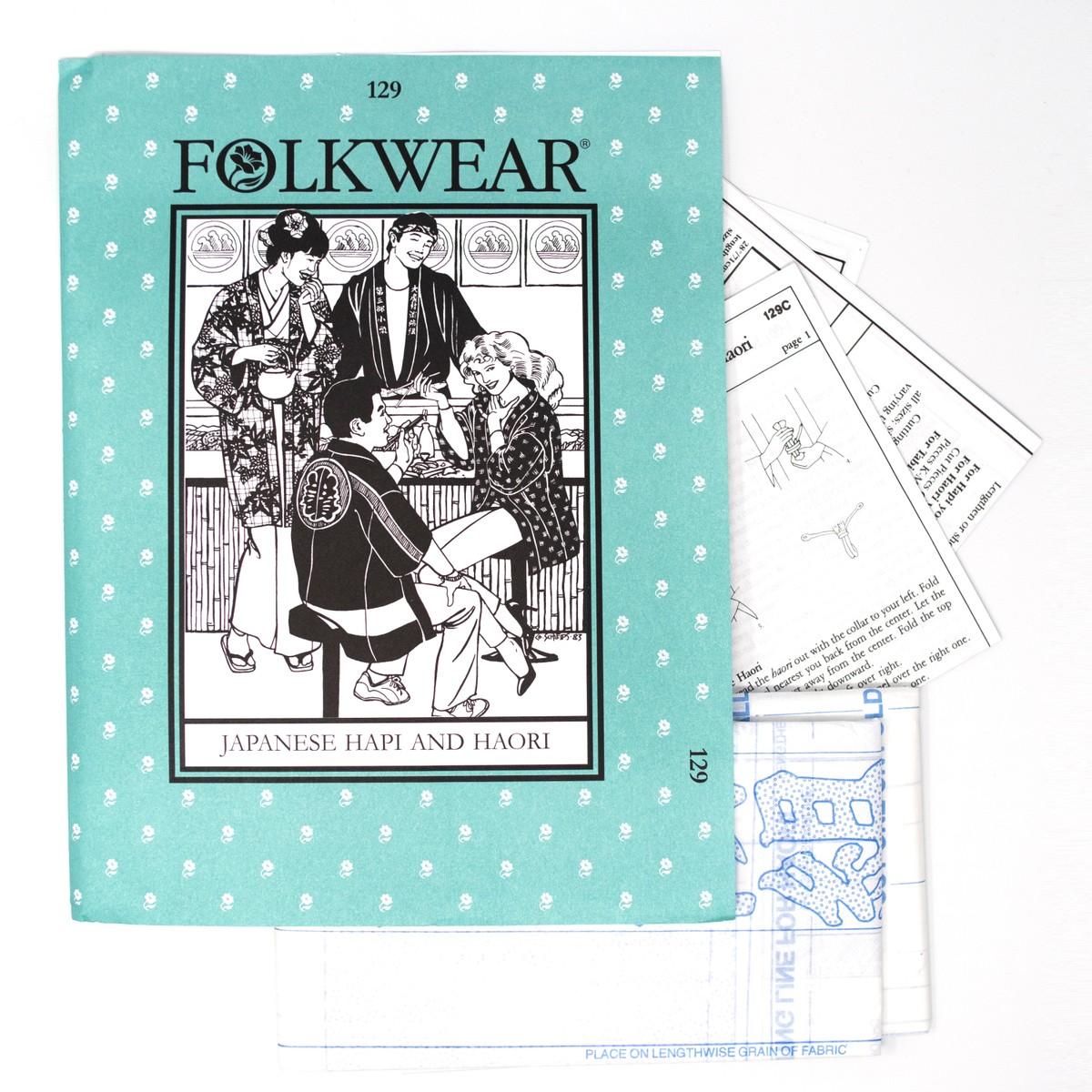 Photo of Japanese Happi & Haori Sewing Patterns