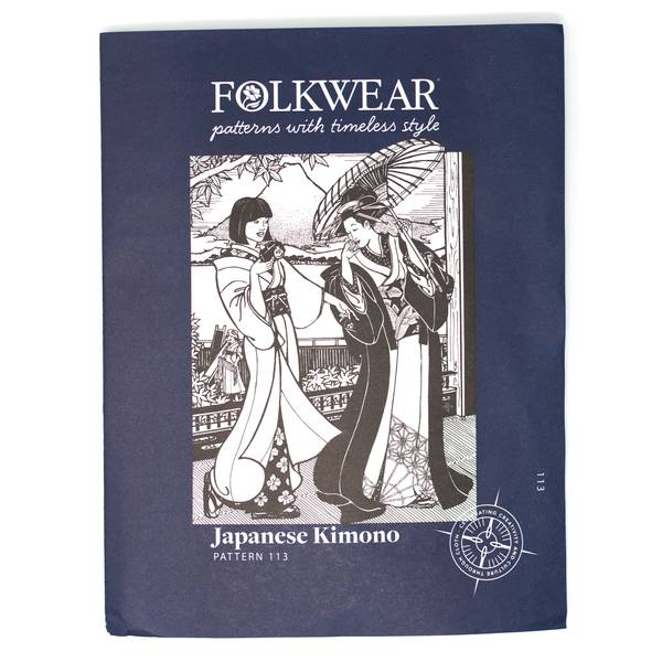 Image of Japanese Kimono Sewing Pattern