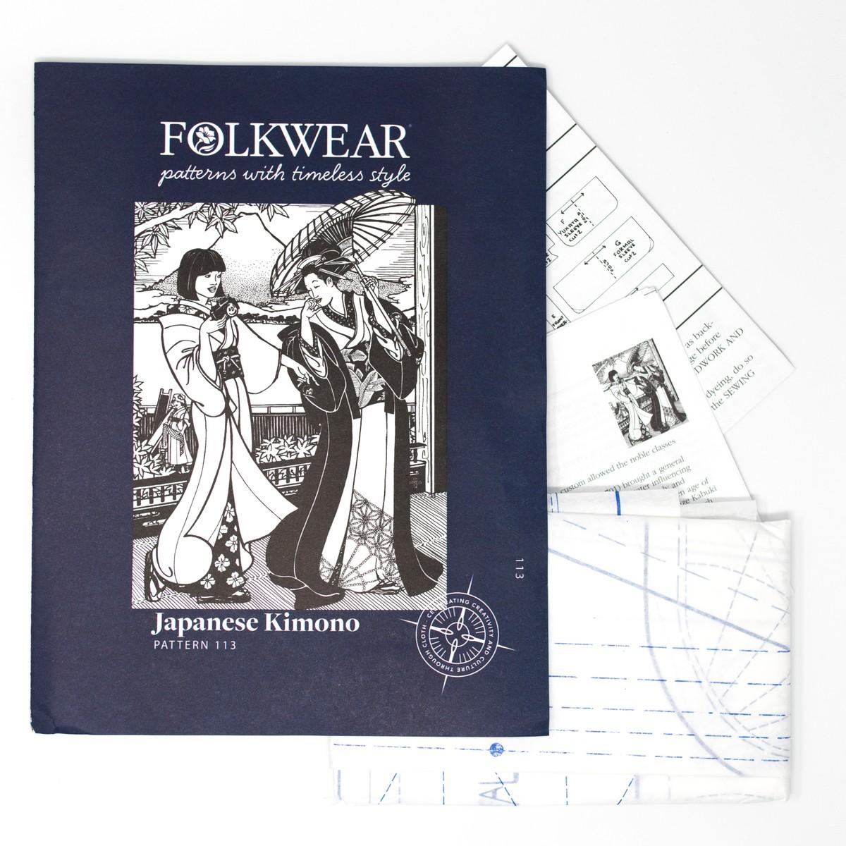 Photo of Japanese Kimono Sewing Pattern