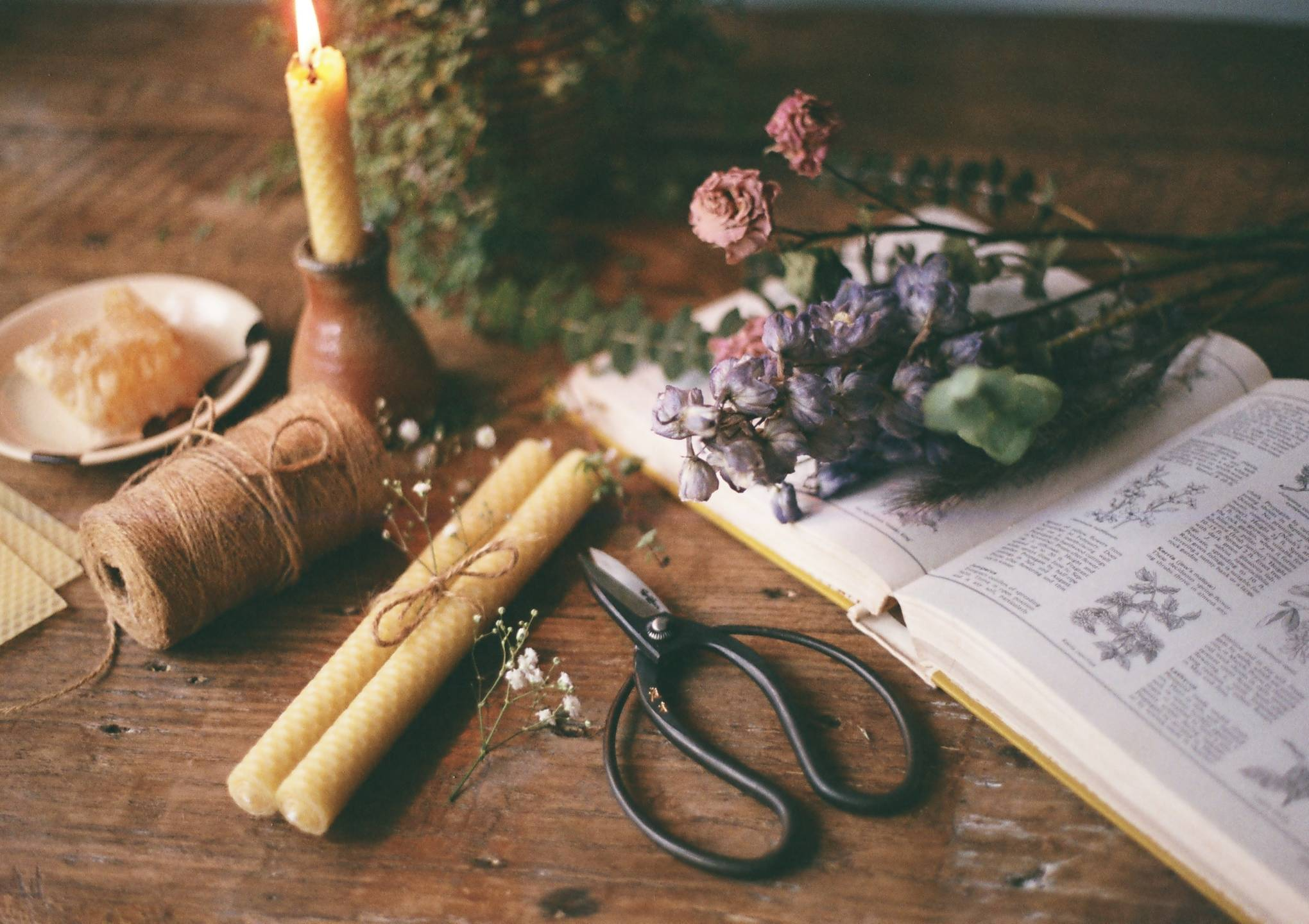 Image of Doing | Beeswax Candles