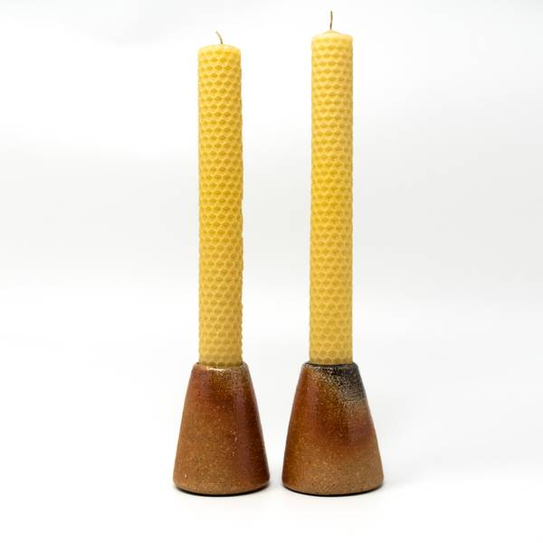Image of Woodfired Candlestick Gift Set
