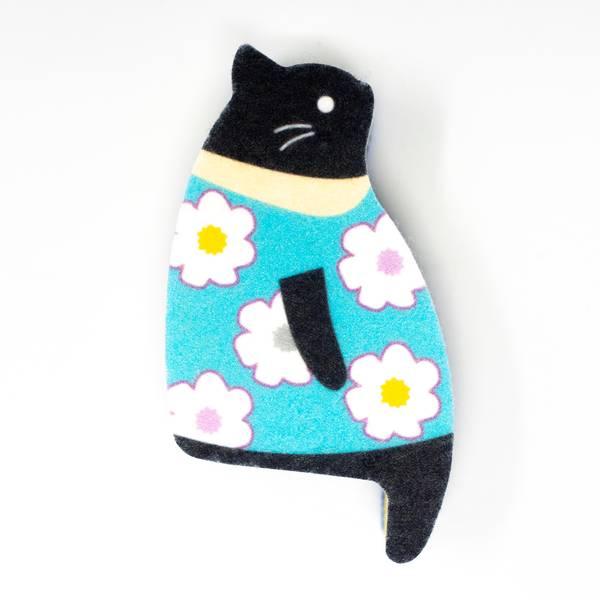 Image of Sakura the Cat Kitchen Sponge