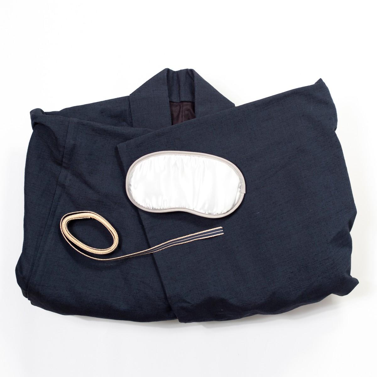 Photo of Kimono Gift Set: Navy Cotton