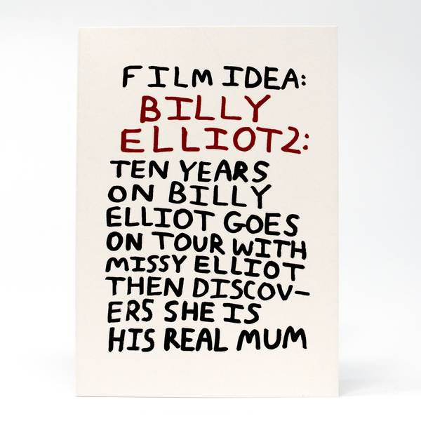 Image of Billy Elliot Greeting Card