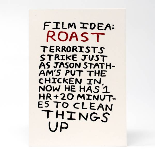 Image of Roast Greeting Card