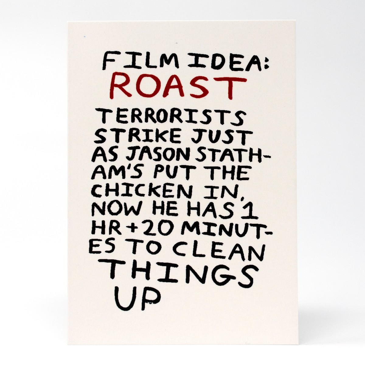 Photo of Roast Greeting Card