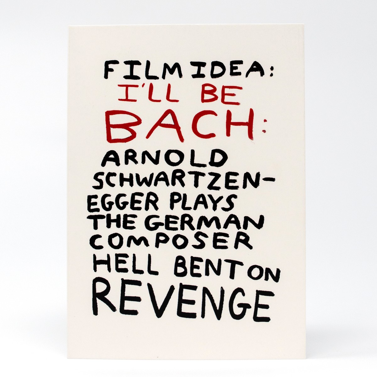 Photo of I'll Be Bach Greeting Card