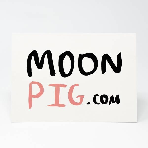 Image of Moonpig.com Greeting Card