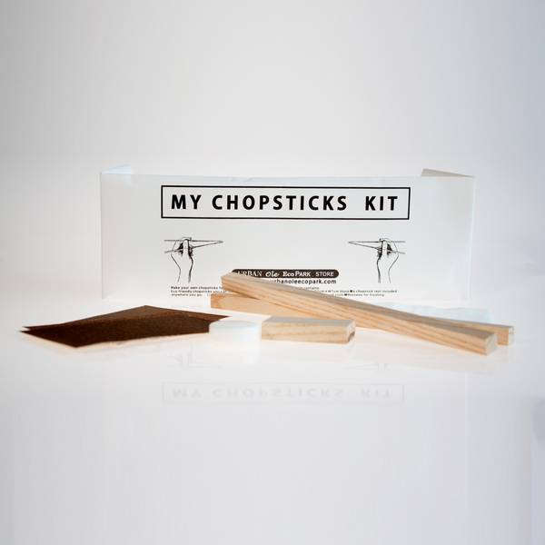 Image of Japanese Chopsticks Whittling Kit