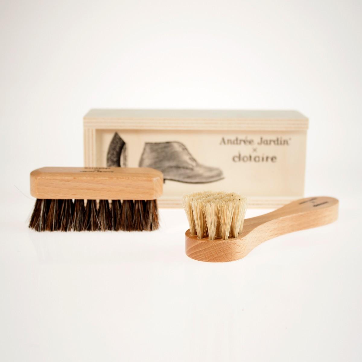 Photo of La Brosserie Shoe Care Kit
