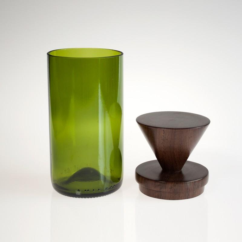 Photo of Inverted Green MidMod Jar