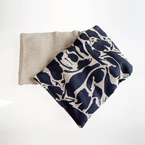 Image of Indigo Linen Hot and Cold Pack