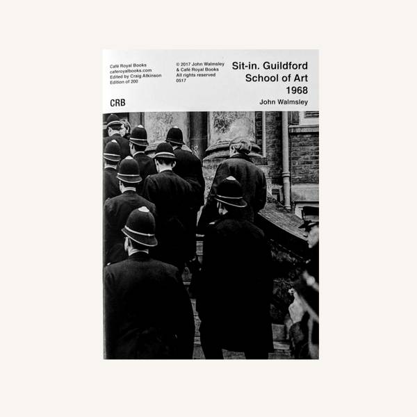 Image of Art School Sit-in 1968 Photozine