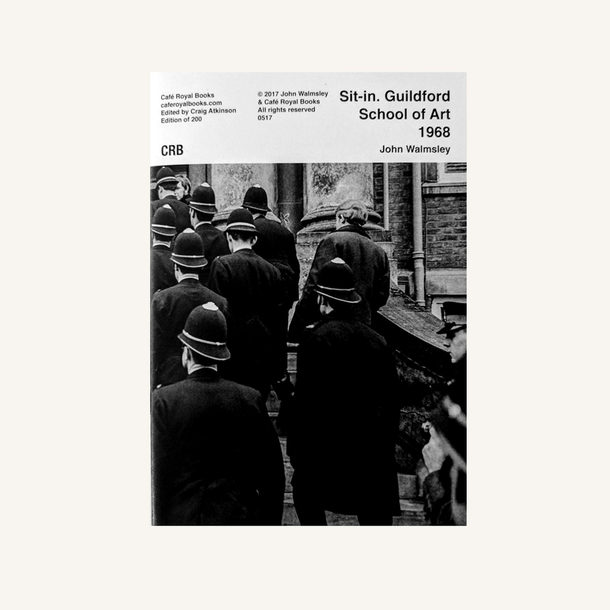 Photo of Art School Sit-in 1968 Photozine