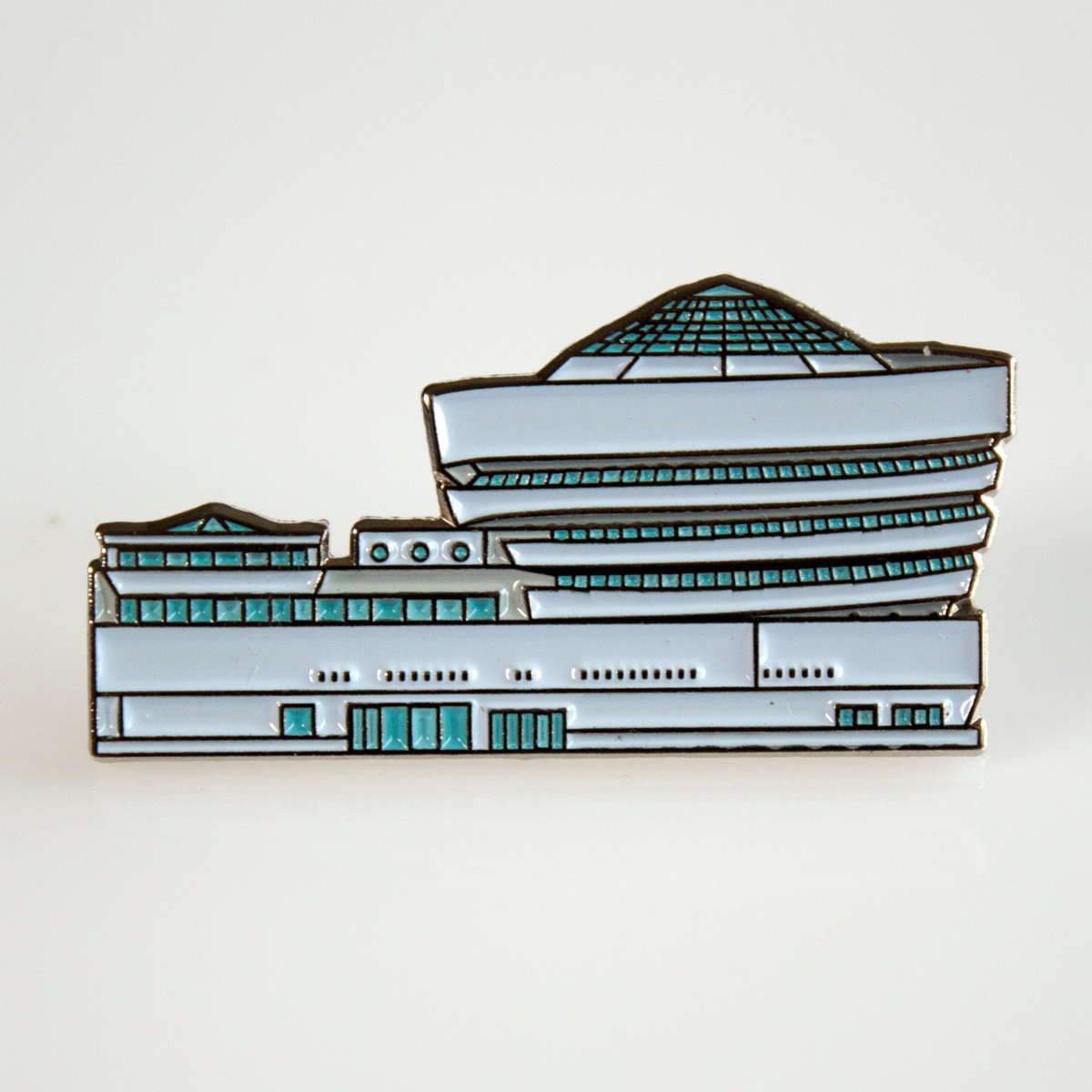 Photo of Guggenheim Enamel Pin