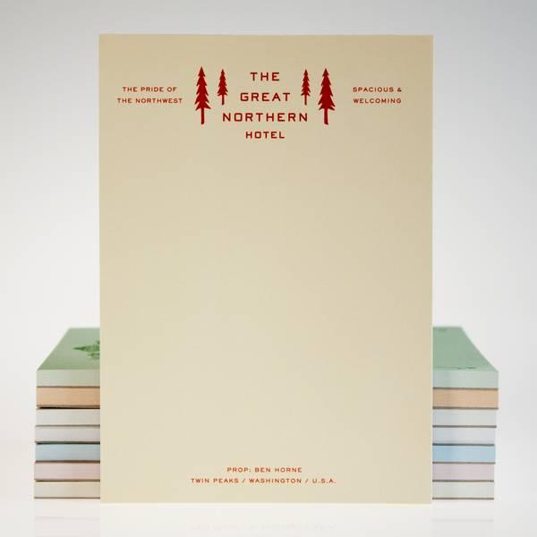 Image of Twin Peaks Hotel Notebook