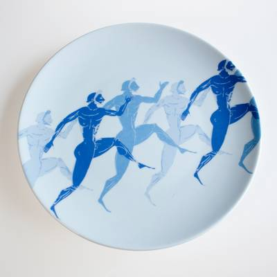 Image of Olympic Runners Plate